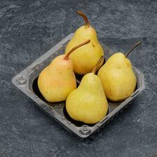 Poire williams, BIO, calibre 60/70, catégorie 2, France, barquette 4 fruits