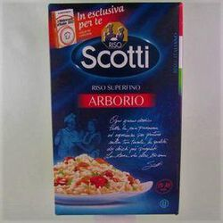 Riz long grain superfin Arborio SCOTTI ,1 kg