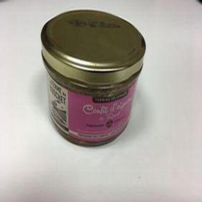 Terrine de jambon confit d'oignon de Roscoff, LA FERME DU BOSCHET, bocal 190g
