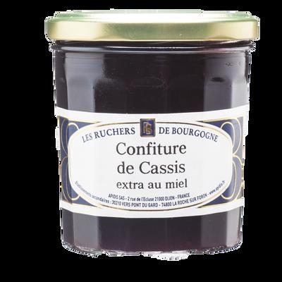 Confiture de cassis au miel RUCHERS DE BOURGOGNE, 375g
