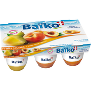 Baïko Yaourts Au Lait Entier Aux Fruits Jaunes Baiko, 6x125g