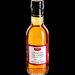 Vinaigre de cidre aromatisé au miel ERIC BUR, 25cl
