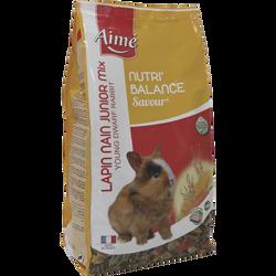 Nutri'balance savour mix jeune lapin, AIME, 900g