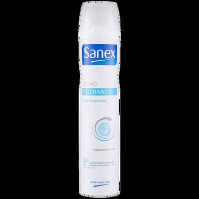 Déodorant dermo tolerance SANEX, atomiseur de 200ml