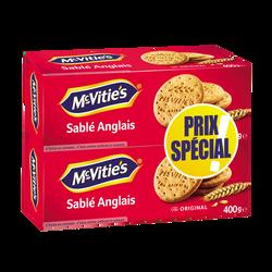 Biscuits original MC VITIE'S, 2 x 400G