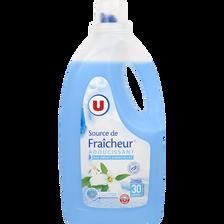 Adoucissant dilué source de fraîcheur U, flacon de 2l