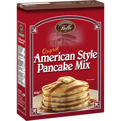 Pancake mix MISSISSIPI BELLE, 454g