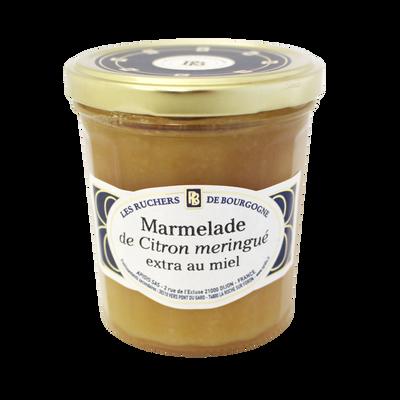 Marmelade citron meringué au miel RUCHERS DE BOURGOGNE, 375g