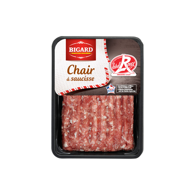 Chair à saucisse, LABEL ROUGE, BIGARD, France, 250g