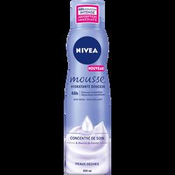 Mousse douceur pour peaux sèches NIVEA BODY, pompe de 200ml