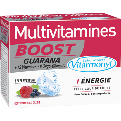 Multivitamines boost effervescent
