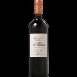 Haut Médoc AOP rouge Château Haut Bellevue 2014, 75cl