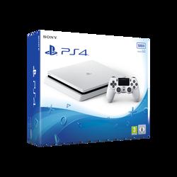 "Console PS4 slim 500go ""f"" blanc"