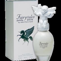 Eau de parfum fairytales purely white JEAN-PIERRE SAND, vaporisateur de 100ml