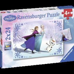 COLLECTION PUZZLE 2X24 PIECES RAVENSBURGER