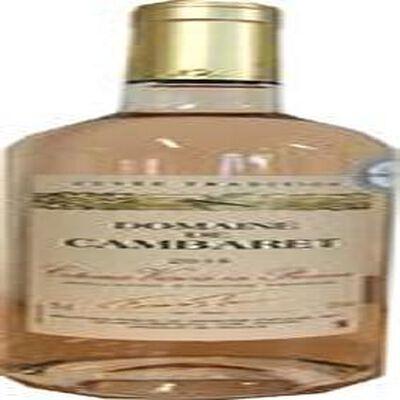Coteaux Varois de Provence, Vin Rosé Domaine de Cambaret, bouteille 75cl