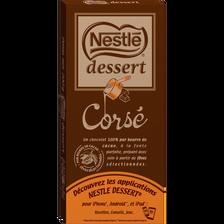 Chocolat noir corsé NESTLE Dessert, 200g