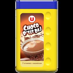 Cacao poudre 7 vitamines magnesium U, boîte de  450g