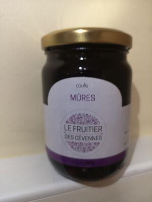 Coulis de mûres, Le fruitier des Cévennes, 300g