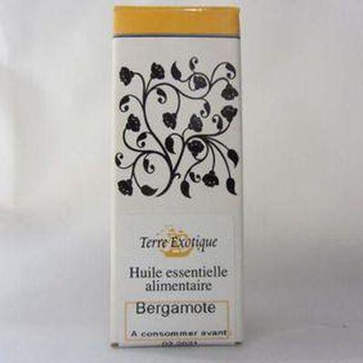 Huile essentielle alimentaire Bergamote Bio TERRE EXOTIQUE,10ml