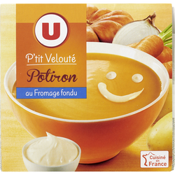 P'tit velouté potiron au fromage blanc U 2x30cl