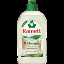 Liquide vaisselle RAINETT Dermo Sensitive, flacon de 500ml