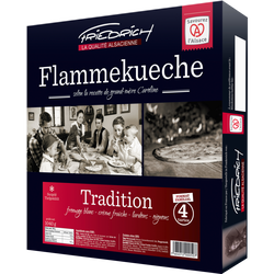 Tartes flambées tradition  FRIEDRICH, 4x260g