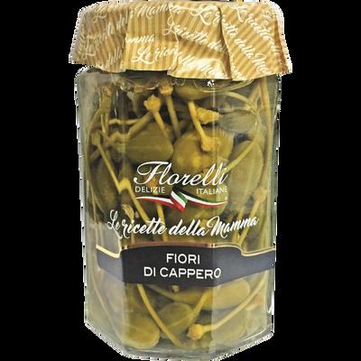 Fleurs de câpres au vinaigre de vin, FLORELLI,  310g