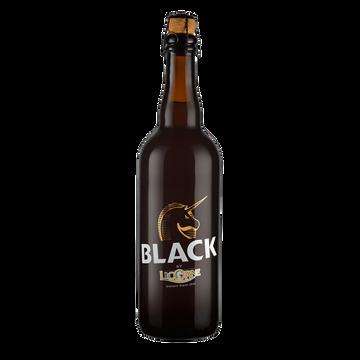 Licorne Bière Brune Black By Licorne 6° 75cl