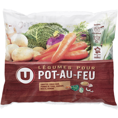 Légumes pour pot au feu U, 1kg