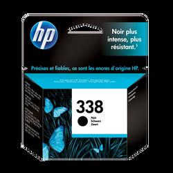 Cartouche d'encre HP pour imprimante, C8765EE noir éco n°338, sous blister