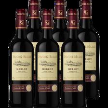 Roche Mazet Vin Rouge Igp Pays D'oc Merlot , 2017, 6x75cl