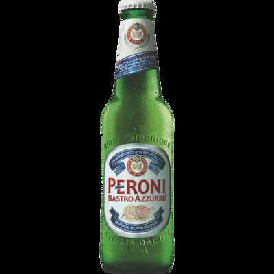 Bière PERONI NASTRO AZZURRO, 5,1° bouteille de 33cl