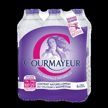 Courmayeur Eau Minérale Naturelle Courmayeur, 6x1,5l