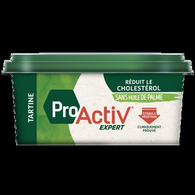 Margarine allégée à tartiner sans huile palme PRO ACTIV expert, 40%MG,450g