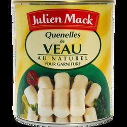 Quenelles de veau au naturel boîte JULIEN MACK, 510g