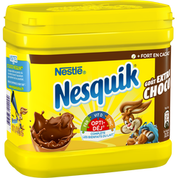 Poudre chocolatée NESQUIK intense, boîte de 600g