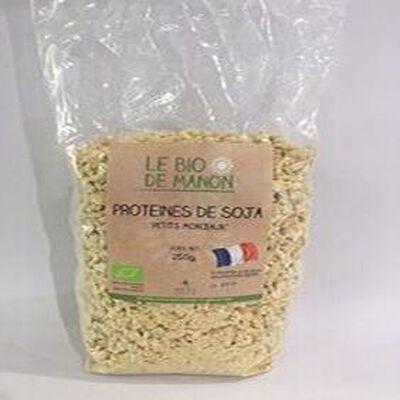 Protéines de Soja  Petits Morceaux  LE BIO
