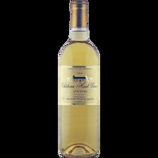 Vin blanc Loupiac AOP CHATEAU HAUT GIRON, bouteille de 75cl