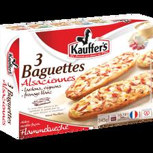 Baguettes Alsaciennes KAUFFER'S, 3x115g