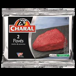 Pavé de boeuf ***, à griller, CHARAL, France, 2 pièces