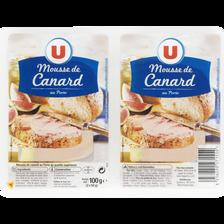 Canard Mousse De  Au Porto U, 2x50g