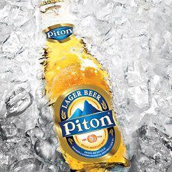 Bière blonde PITON, 5°, la bouteille de 27,5cl