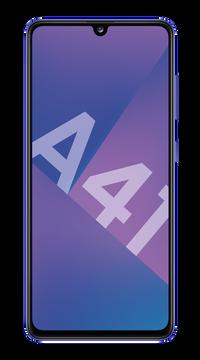 Samsung Gsm Samsung Galaxy A41 Bleu