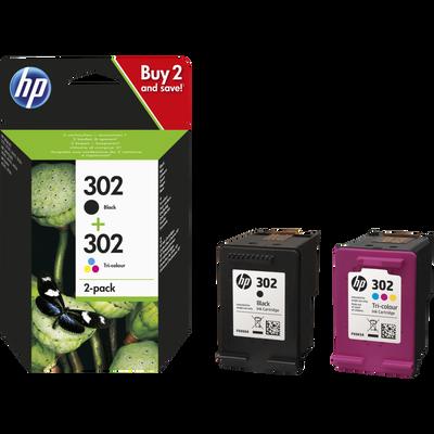 Pack cartouche HP N°302
