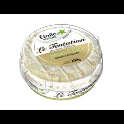 Fromage au lait thermisé Le Tentation Crémeux à Coeur 32% de matière grasse ETOILE DU VERCORS, 200g
