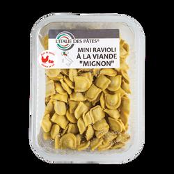 """Mini-ravioli à la viande """"MIGNON"""" L'Italie des pâtes, 250g"""