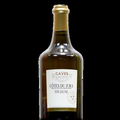 Côtes du Jura vin jaune LES CAVES DU VIEUX MONT, bouteille de 0.62 l
