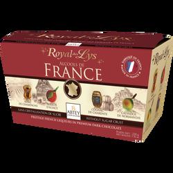 Chocolat fourrés liqueur à l' alcools de France ABTEY, 220g