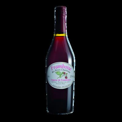 Liqueur de framboise des pères CHARTREUX 21° bouteille de 50cl